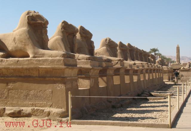 Храм Амон-Ра в Карнаке, 2011. Фото - Светлана Мурси-Гудеж