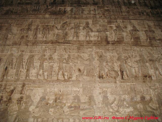 Храм богини Хатхор в Дандаре. Фото - Светлана Мурси-Гудеж