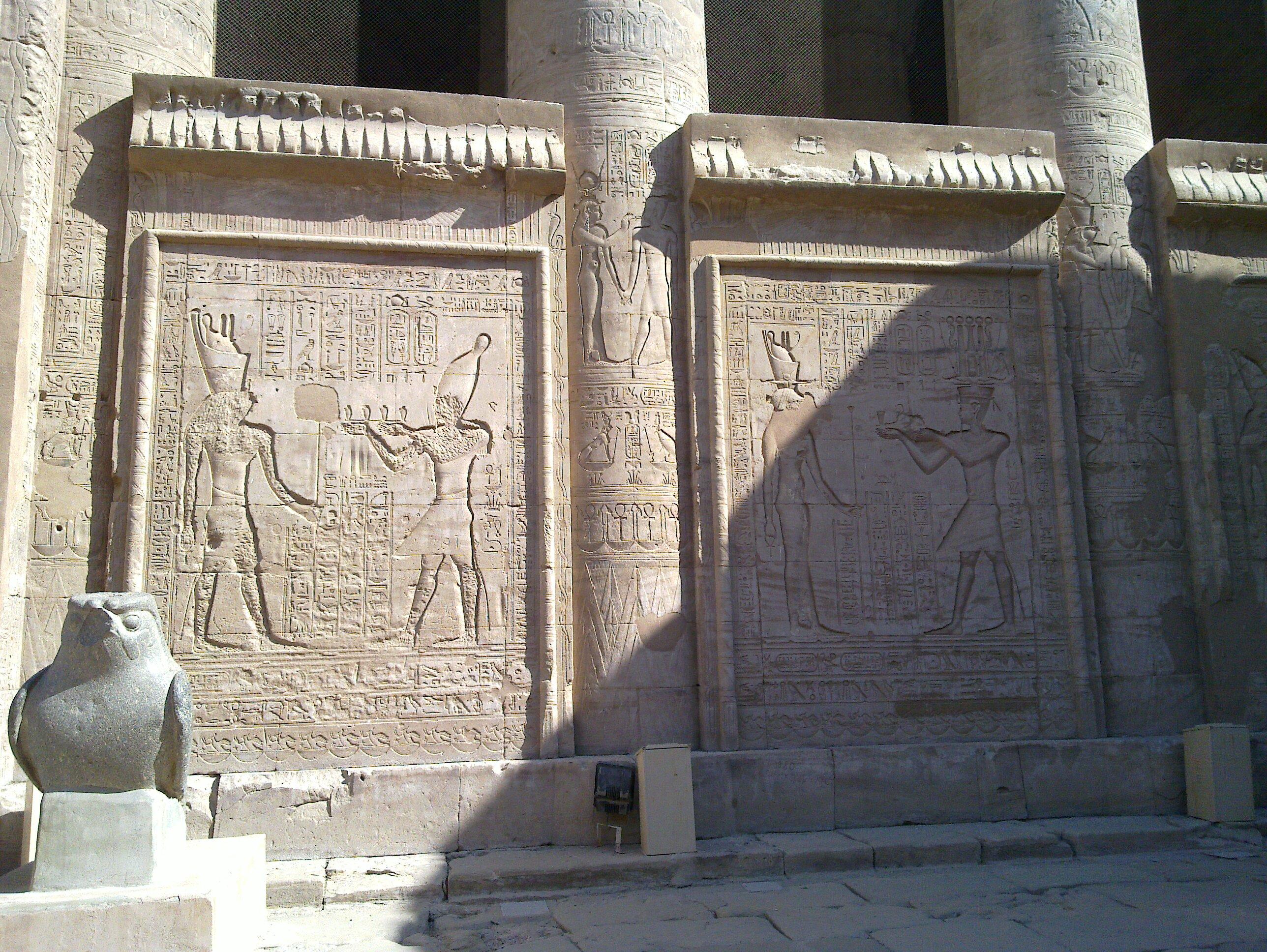 Канцелярия египетских фараонов найдена в Бехдети