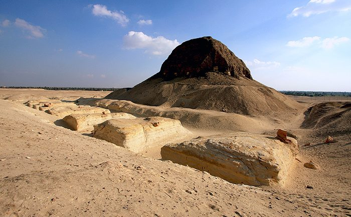 Пирамида Сенусерта II в Эль-Лахун