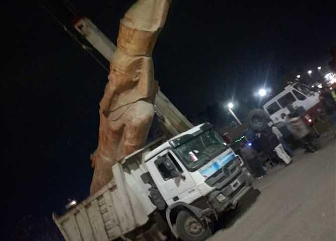 Обелиск фараона Рамзеса II на площади Тахрир